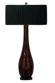 Thumprints Bronze Beauty Table Lamp