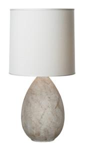 Thumprints Limestone Table Lamp