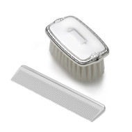 Empire Silver Boys Shield Military Brush/Comb  Set