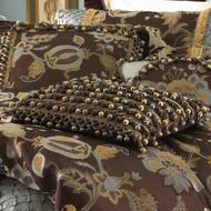 Isabella Collection by Kathy Fielder Alex 16x16 Tassel Row Pillow