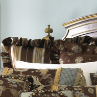 Isabella Collection by Kathy Fielder Alex Stripe Euro Sham