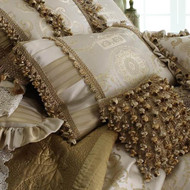 Isabella Collection by Kathy Fielder Ivanka 16x24 Pieced Pillow