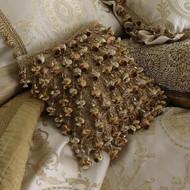Isabella Collection by Kathy Fielder Ivanka 12x12 Tassel Row Pillow