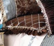 Isabella Collection by Kathy Fielder Symone Diamond Euro Sham