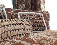 Isabella Collection by Kathy Fielder Symone 20x20 Pieced Pillow