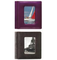 """Raika USA 4"""" x 6"""" Foldout Framed-Front Photo Album"""