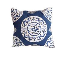 "Dana Gibson Blue Dragon 22"" Pillow"