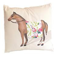"Dana Gibson Show Horse In Chintz 22"" Pillow"