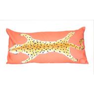Dana Gibson Leopard Lumbar In Orange