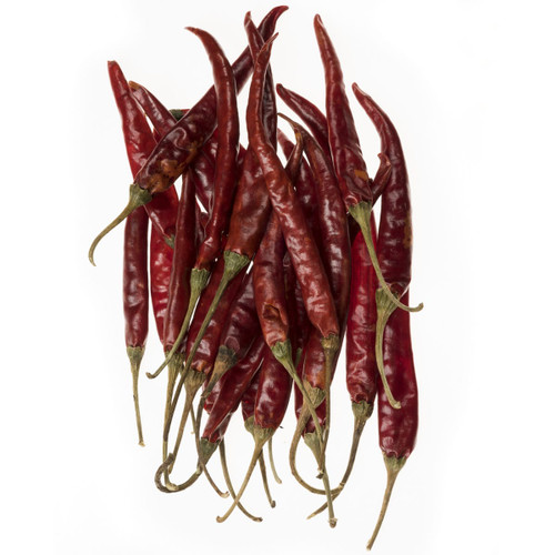De Arbol Peppers - Whole