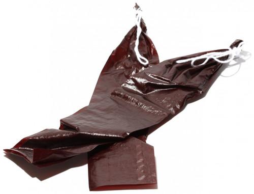 """1.5 x15"""" Mahogany Fiberous Casings - Bag of 20"""