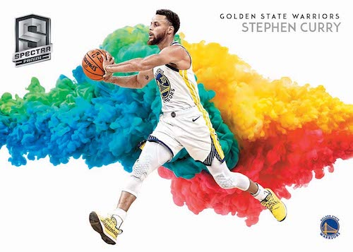 2019-20 Panini Spectra Basketball NBA Cards Color Blast Stephen Curry