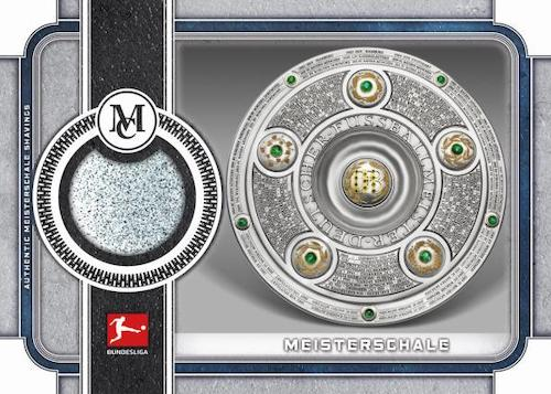 2019-20 Topps Museum Collection Bundesliga Cards Meisterschale Relic