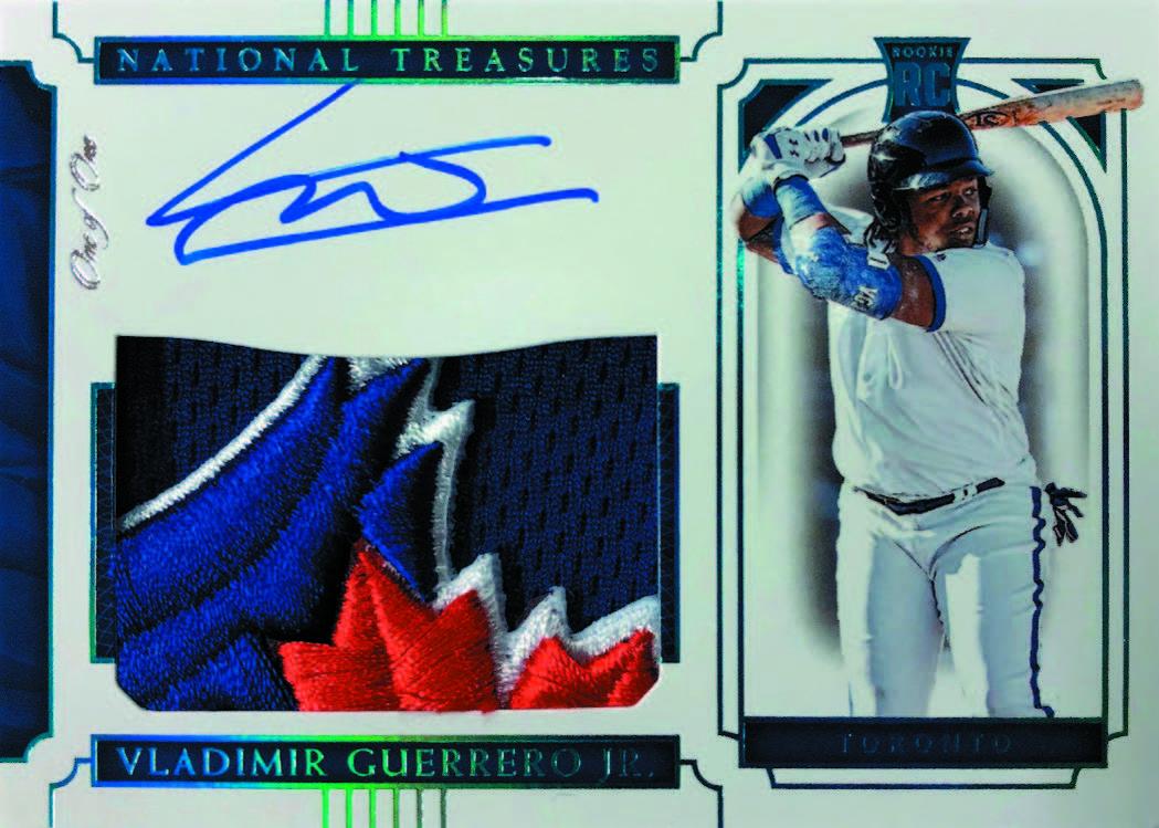 Preview2019 Panini National Treasures Baseball Cards Diamond