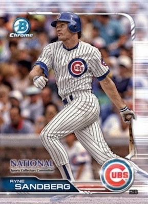 2019 Topps NSCC Bowman Chrome National Convention Cards