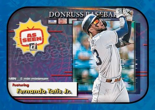 2020 Donruss Baseball Cards As Seen As Fernando Tatis Jr