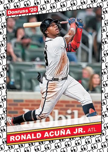 2020 Donruss Baseball Cards Retro 1986 Look at This Ronald Acuna Jr