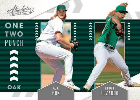 2020 Panini Absolute Baseball Cards One Two Punch