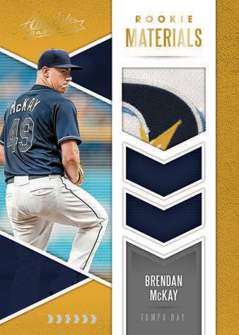 2020 Panini Absolute Baseball Cards Rookie Tandem Materials McKay