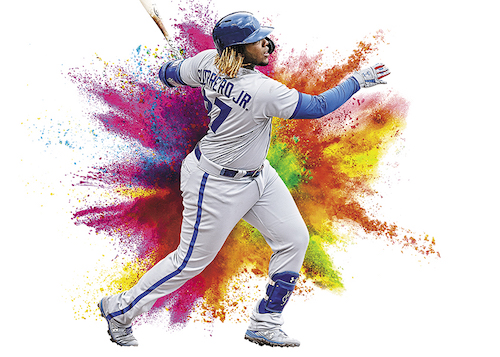 2020 Panini Prizm Baseball Cards Color Blast Vladimir Guerrero Jr