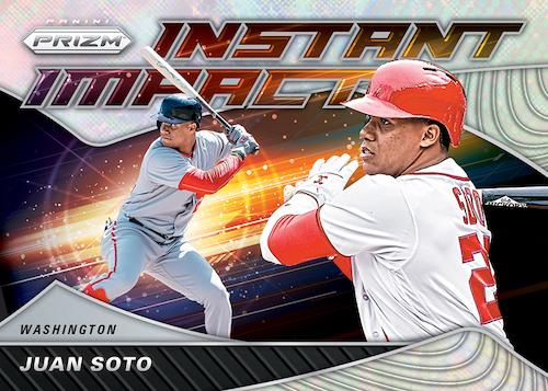 2020 Panini Prizm Baseball Cards Instant Impact Juan Soto Prizms