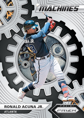 2020 Panini Prizm Baseball Cards Machines Acuna