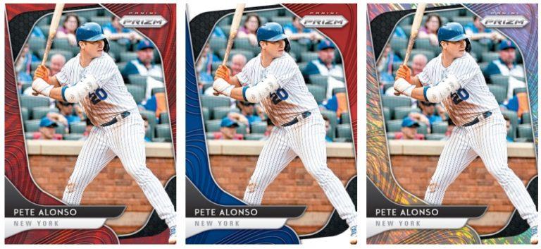 2020 Panini Prizm Baseball Cards Pete Alonso Prizms Rainbow Gallery