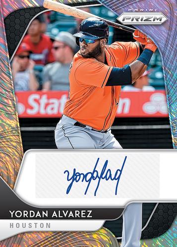 2020 Panini Prizm Baseball Cards Rookie Autographs Shimmer FOTL Yordan Alvarez RC