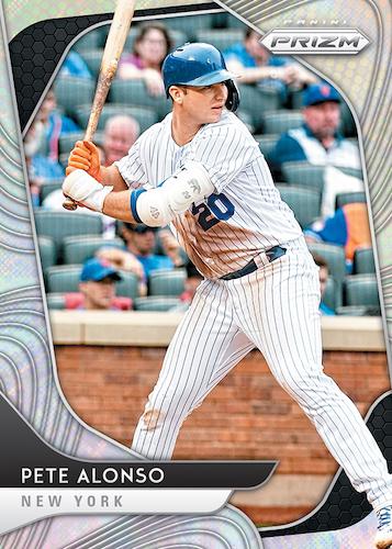 2020 Panini Prizm Baseball Cards Silver Prizms Pete Alonso