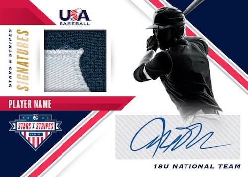 2020 Panini Stars Stripes USA Baseball Cards Stars Stripes Signatures Prime