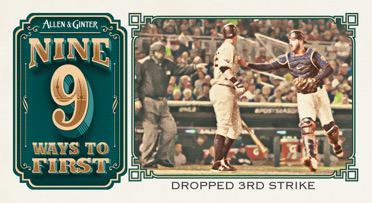 2020 Topps Allen Ginter Baseball Cards 9 Ways to First Base