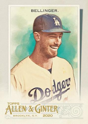 2020 Topps Allen Ginter Baseball Cards Base Cody Bellinger