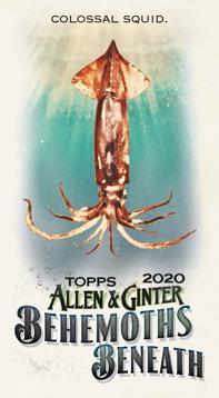 2020 Topps Allen Ginter Baseball Cards Behemoths Beneath