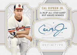 2020 Topps Definitive Collection Baseball Cards Legendary Autograph Collection Cal Ripken Jr.