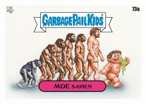 2020 Topps Garbage Pail Kids 35th Anniversary Series 2 Trading Cards Stickers Base Moe Sapien