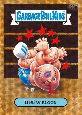 2020 Topps Garbage Pail Kids Chrome Original Series 3 Trading Cards Base SuperFractor