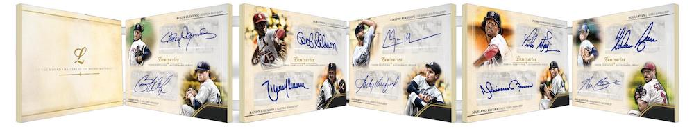 2020 Topps Luminaries Baseball Cards Masters of the Mound Ultra Book Autographs