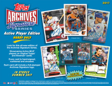 2017 Topps Archives Signature Series Baseball Hobby Box