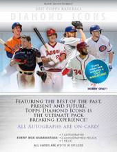 2017 Topps Diamond Icons Baseball 4 Box Case