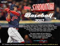 2017 Topps Stadium Club Baseball Hobby 16 Box Case