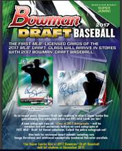 2017 Bowman Draft Picks & Prospects Baseball Hobby Super Jumbo Box