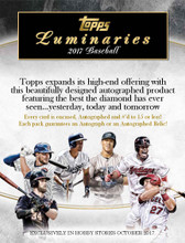 2017 Topps Luminaries Baseball Hobby Box