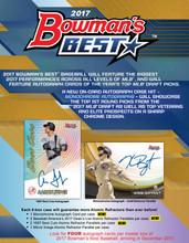 2017 Bowman's Best Baseball Hobby 8 Box Case