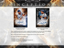 2018 Topps Inception Baseball Hobby 16 Box Case