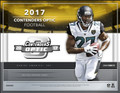 2017 Panini Contenders Optic Football Hobby 10 Box Case