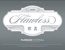 2017 Panini Flawless Football Hobby 2 Box Case