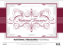 2017 Panini National Treasures Football Hobby 4 Box Case