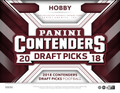 2018 Panini Contenders Draft Picks Football Hobby 12 Box Case
