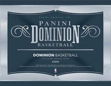 2017-18 Panini Dominion Basketball Hobby Box