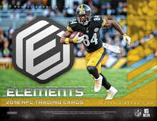 2018 Panini Elements Football Hobby 12 Box Case